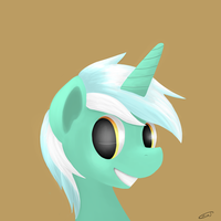 Lyra Portrait by Crisp-DA