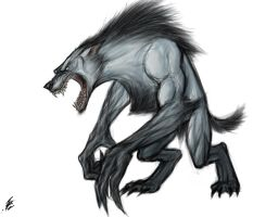 Werewolf by TheRisingSoul