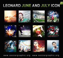 LEONARD ICON SET JUNE AND JULY by LeonardSG