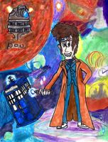 The Tenth Doctor by SonicClone