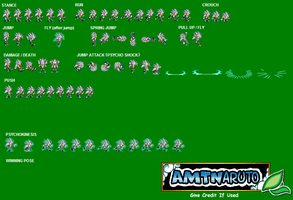 Silver the Hedgehog sprites by AMTModollas