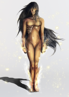Fire 'n Fury_Character Design by LaceWingedSaby