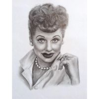 I Love Lucy by shadesofsunshineart