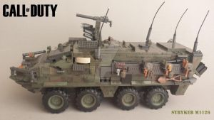 Custom Call of Duty Mega Bloks Stryker M 1126 by dj-stereophonik