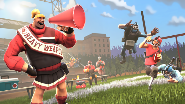TF2 Workshop: The Cheer Captain! by uberchain
