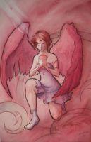 angel with cup2 by Celeste23forever