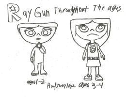 Ray Gun Throughout the Ages part 1 by RedJoey1992