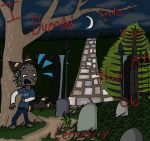 I bumped into you at the old cemetery by thefluffyhandgrenade