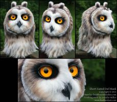 Short-Eared Owl Mask by Nambroth