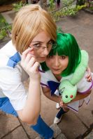 Ranka Lee and Michael Blanc::: by Witchiko