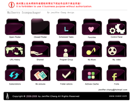 mulberry floder icons by jenifferchang