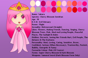 Sakura The Cherry Blossom Seedrian Bio by QueenSilvia95