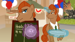 Heads or Tails? by Crescent-Mond