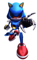 Metal Sonic [3D] by Fentonxd