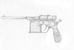 Mauser C96 by AzonBobcat