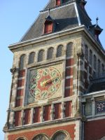 Compass rose  station Amsterdam by marob0501