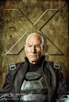 X-Men: Prof X: Anisotropic Paint Edit by nerdboy69