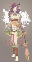 48h Female adoptable auction 33 [CLOSED] by ilaBarattolo