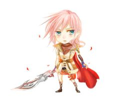 chibi Lightning by fwdie