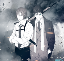 gun and sourin by deaism29