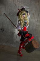 Give me some sugar, baby! - Pirate Harley cosplay by Voldiesama