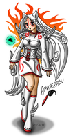 Lady Amaterasu by louisalulu