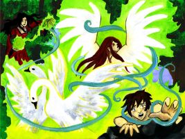 The children of King Lir by octocentesquiderfish