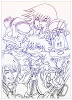 kingdom hearts by carldraw