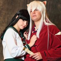 Inuyasha and Kagome by MaxArcher