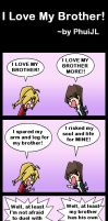 I Love My Brother by PhuiJL