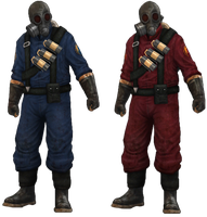 Killing Floor Red-Blue Pyro by atagene