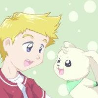 Wallace and Terriermon by thefruitpatch