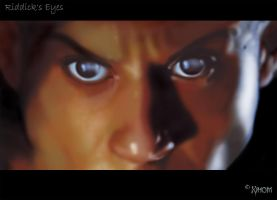 Riddick's Eyes by Xihom