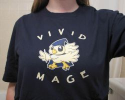 Vivid Mage Shirt by omelets4sqwerls
