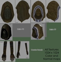 Texture - Hoods and Gloves by BlueSerenity