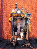 Halloween Pincushion People by bugatha1