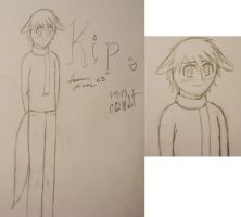 Kip-Human Form by 6-9Changeling