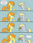 Carrots are good for your eyesight? by Pandramodo