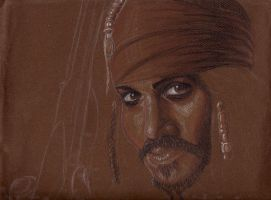 Captain Jack Sparrow by AlexRammsteiner
