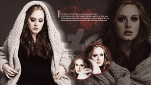Adele by RLovaticaBelieber