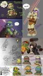 TMNT 2012 doodles by Magic-Ray