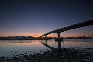Itchen Bridge Sunrise by WilljCreations