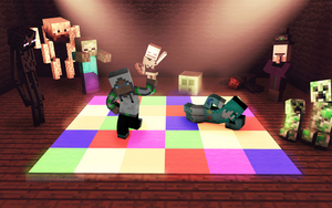 Minecraft (Party mobs) by natom96