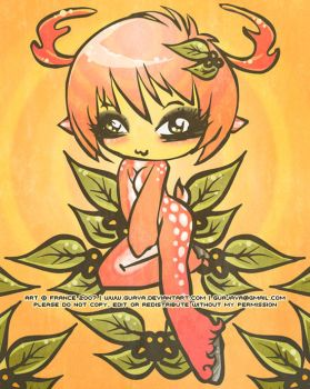 Randy Deer Nymph by guava