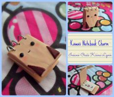 Kawaii Notebook Charm by Insane-Oasis