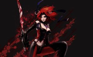 BloodRayne Wallpaper by MorganaGFX