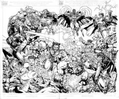 X-Men vs. Street Fighter INKED by edtadeo