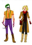 Batman Year One-Joker And Harley Quinn Redesigns! by Comicbookguy54321