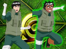 Rock Lee by HayabusaSnake