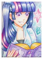 MLP Fim Crayola Crayon Twilight Sparkle by Lemia